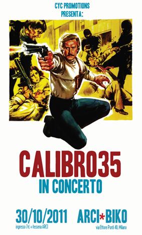 Calibro 35, el ritmo cinemático